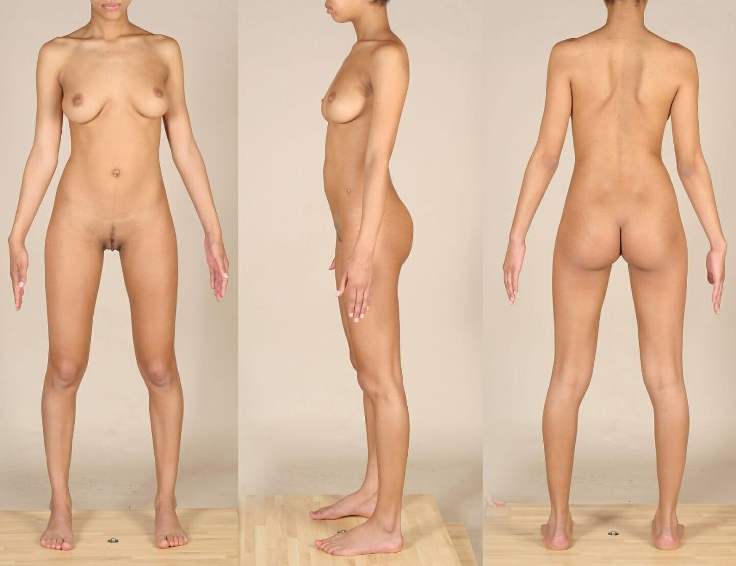 Prezentačné fotografie modelky aktov, erotiky alebo porna